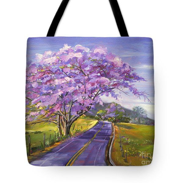 Upcountry In Bloom Tote Bag