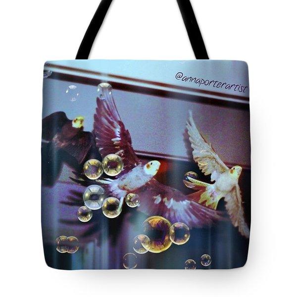 Updraft The Trio Flying Tote Bag