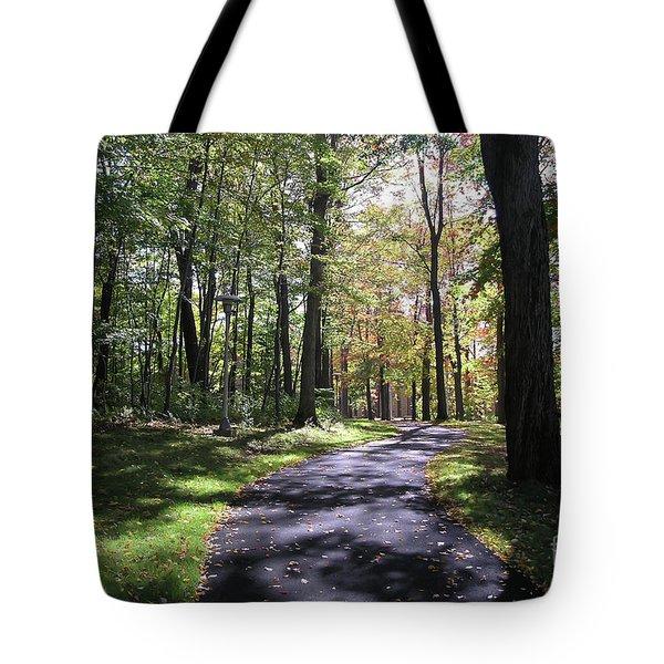 Upj Campus Path Tote Bag
