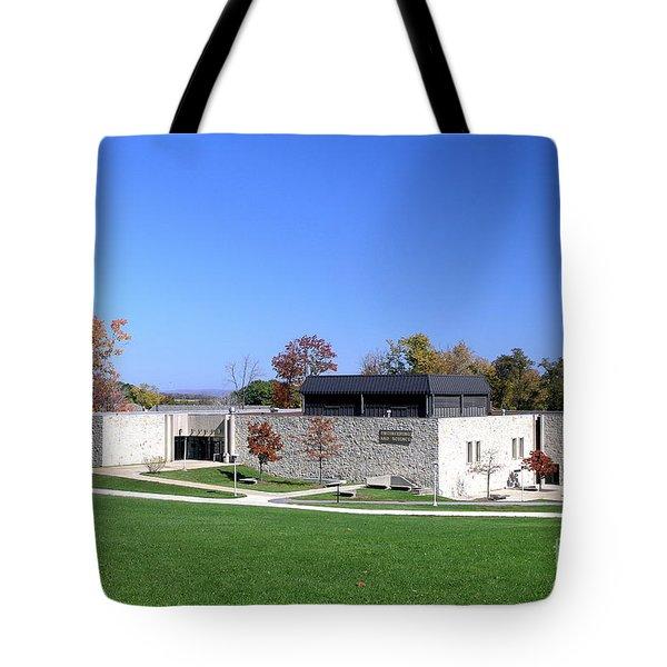 Upj Engineering Hall Tote Bag