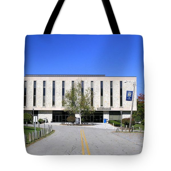 Upj Library Tote Bag