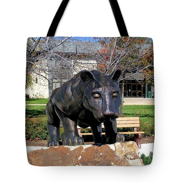 Upj Panther Tote Bag