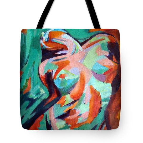 Uplift Tote Bag by Helena Wierzbicki