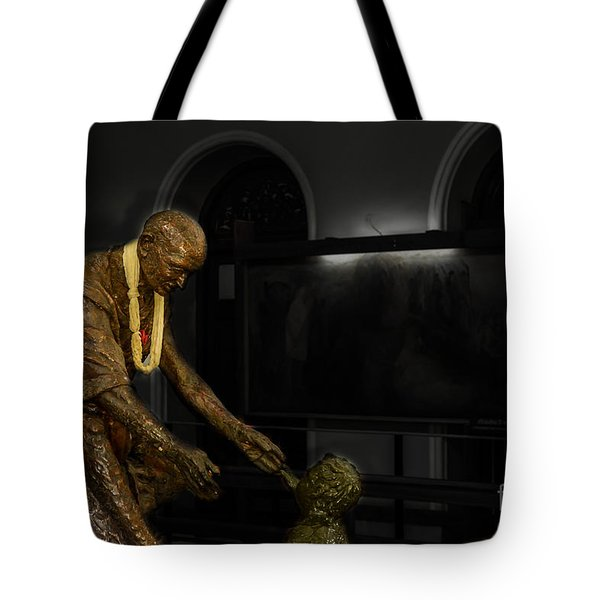 Uplift The Downtrodan Tote Bag