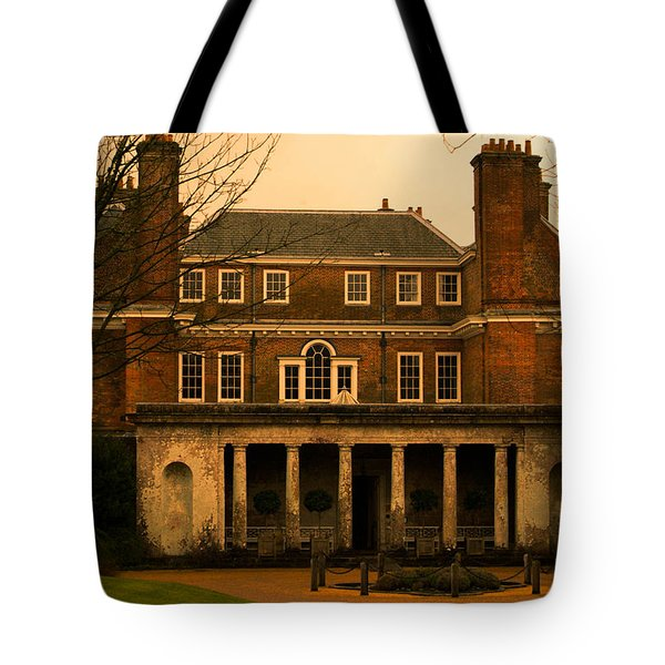 Uppark House Tote Bag by Tracey Beer