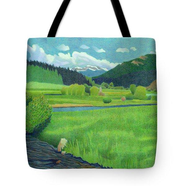 Upper Bear Creek Colorado Tote Bag