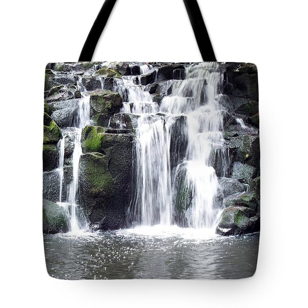 Tote Bag featuring the photograph Upper Beaver Falls by Chalet Roome-Rigdon