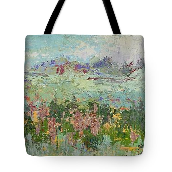 Highland Color Tote Bag by Margaret Bobb