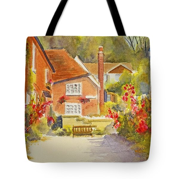 Upper Church Hill Hythe Tote Bag by Beatrice Cloake