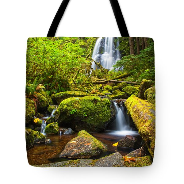 Upper Kentucky Falls - Autumn Tote Bag