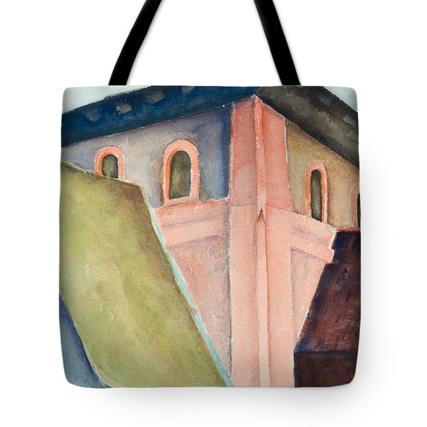 Upper Level Tote Bag by Lee Beuther