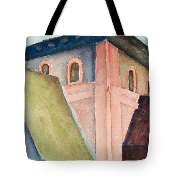 Upper Level Tote Bag