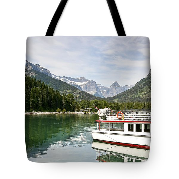 Upper Waterton Lakes Tote Bag by Teresa Zieba