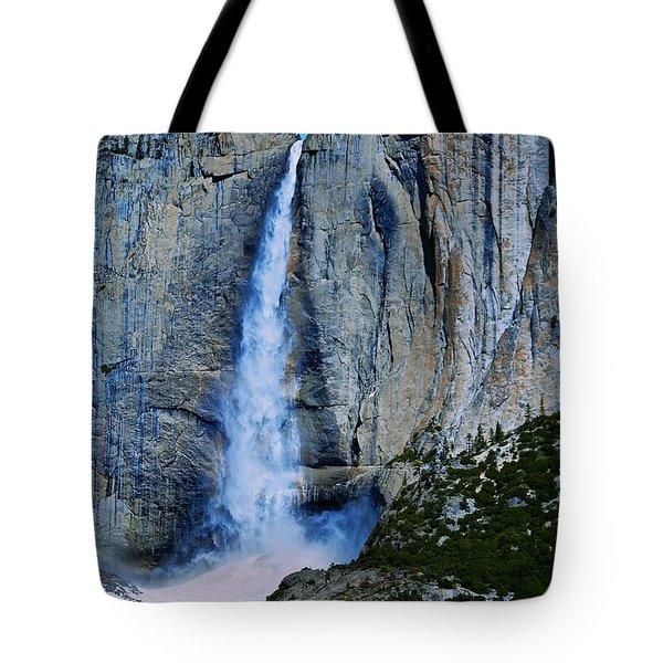 Upper Yosemite Falls Tote Bag by Eric Tressler