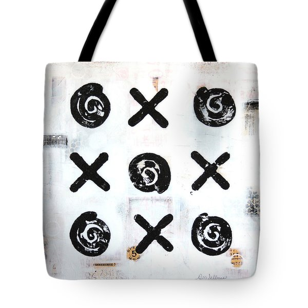 Ups And Downs Tote Bag by Donine Wellman