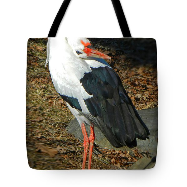 Upside Down View Tote Bag