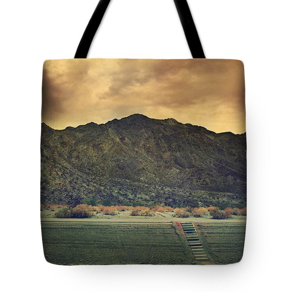 Upstairs Tote Bag by Laurie Search