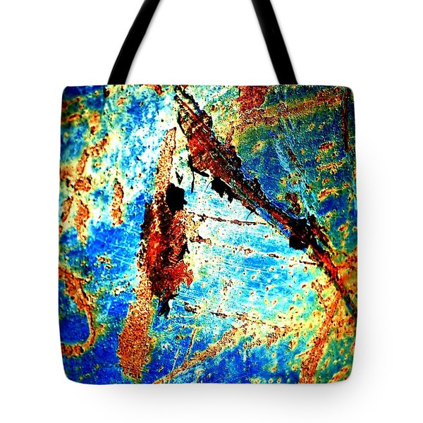 Tote Bag featuring the photograph Urban Abstract by Christiane Hellner-OBrien