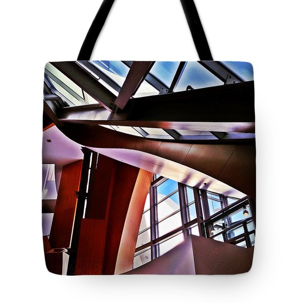 Urban Abstraction Tote Bag