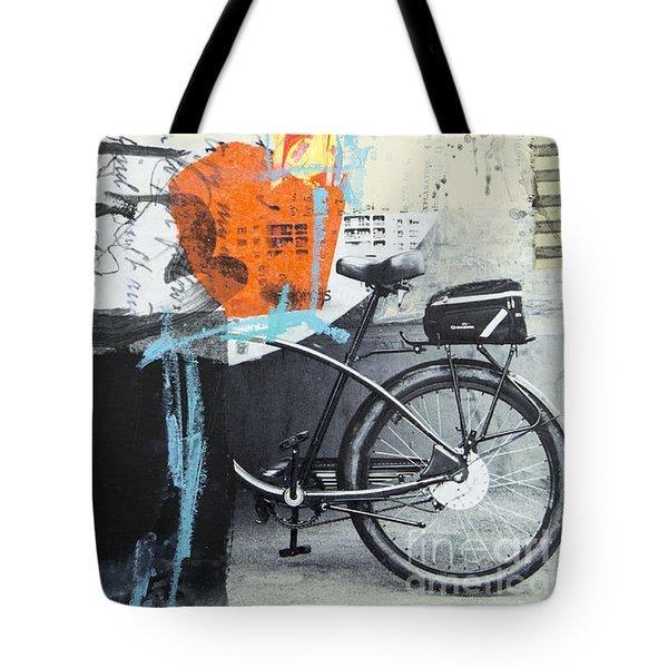 Urban Bicycle Tote Bag