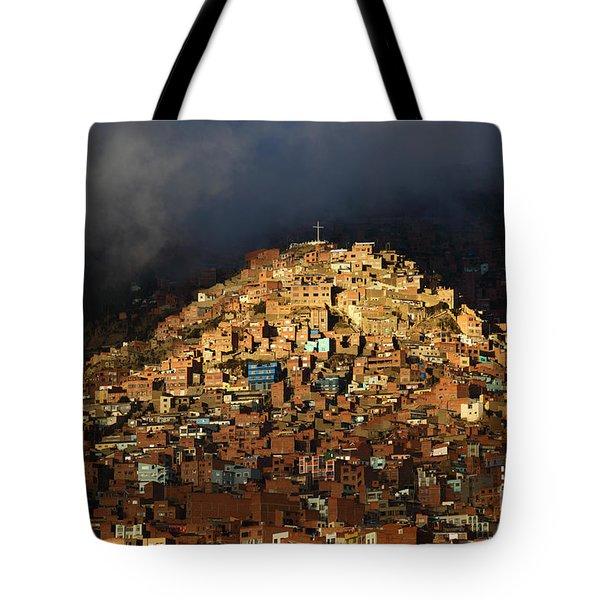 Urban Cross 2 Tote Bag by James Brunker