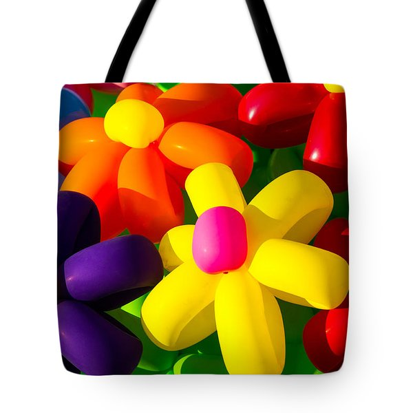 Urban Flowers - Featured 3 Tote Bag by Alexander Senin