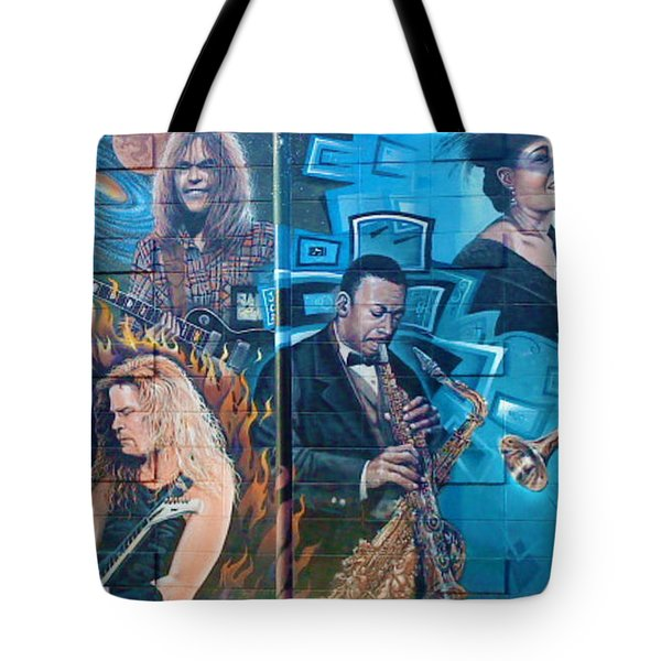 Tote Bag featuring the photograph Urban Graffiti 2 by Janice Westerberg