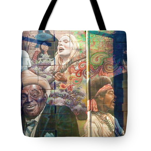 Tote Bag featuring the photograph Urban Graffiti 3 by Janice Westerberg