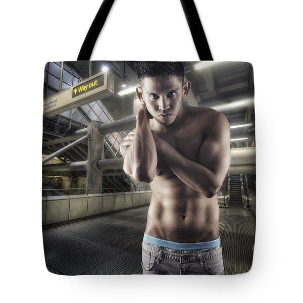 Urban Hunk 1.0 Tote Bag