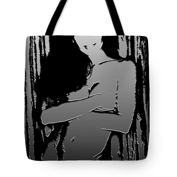 Urban Jungle Dark Tote Bag