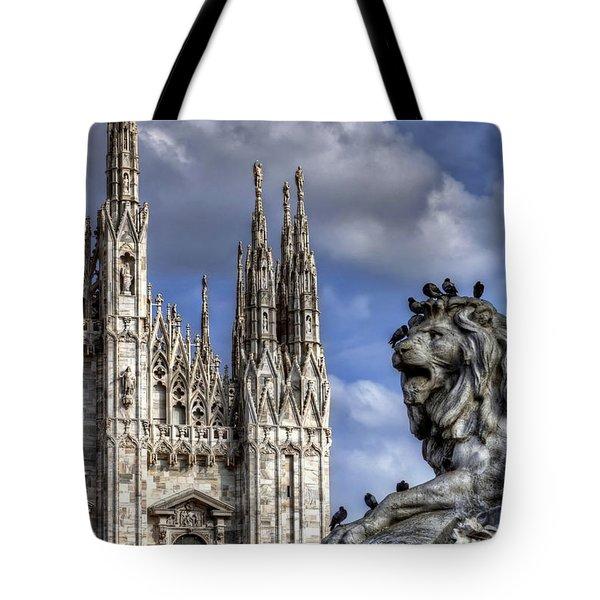 Urban Jungle Milan Tote Bag by Carol Japp