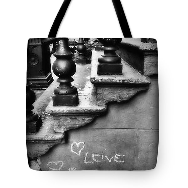 Urban Love Tote Bag by Miriam Danar