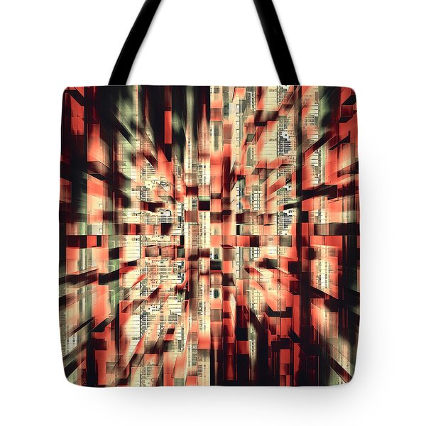 Urban Maze Tote Bag by Kellice Swaggerty