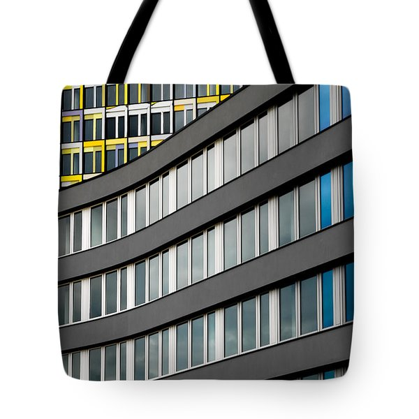 Urban Rectangles Tote Bag by Hannes Cmarits