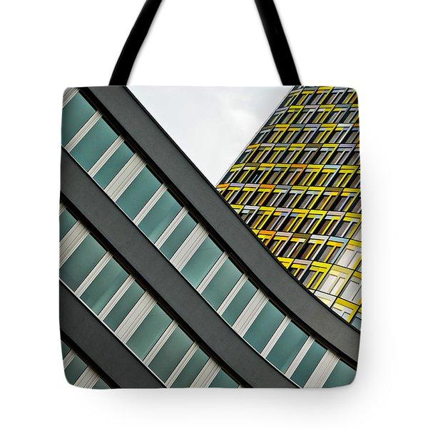 urban rectangles III Tote Bag by Hannes Cmarits