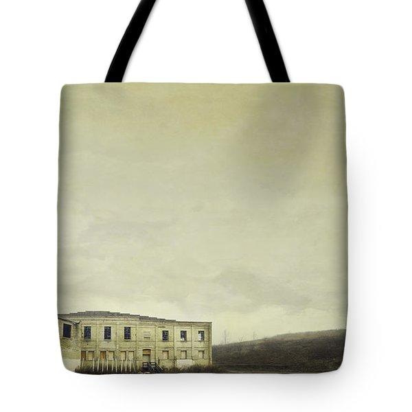 Urban Ruins Tote Bag
