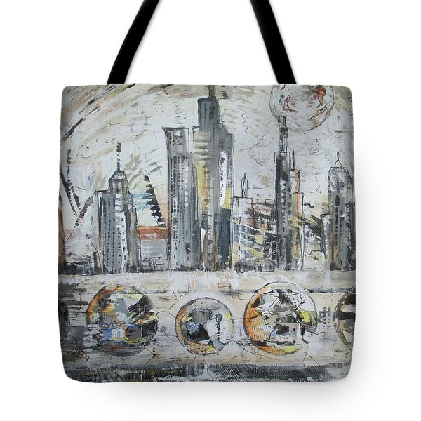 Urban Rumble Tote Bag