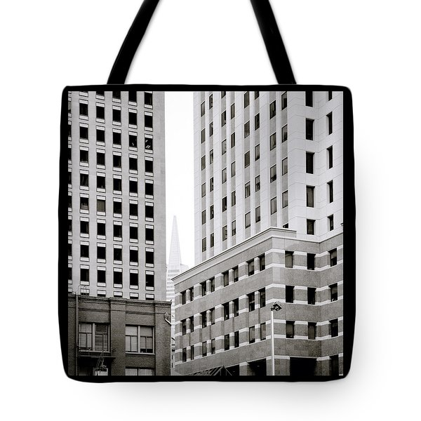 Urban San Francisco Tote Bag by Shaun Higson