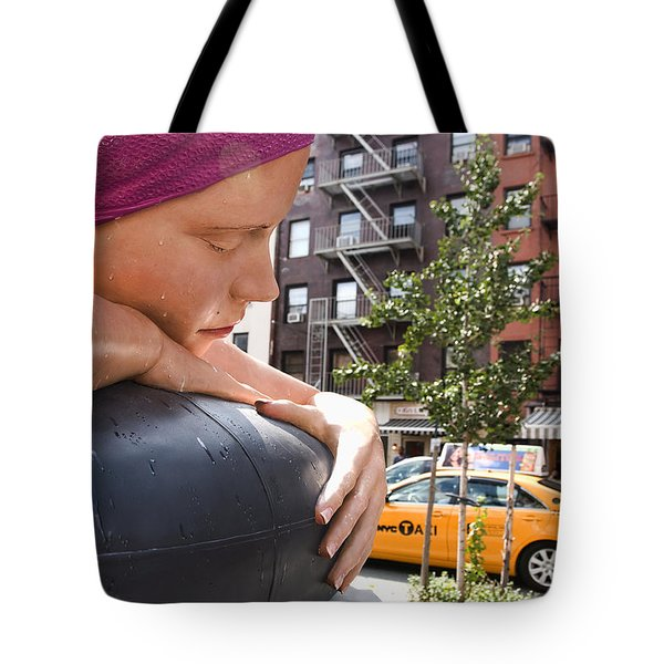 Urban Siren Tote Bag by Joanna Madloch