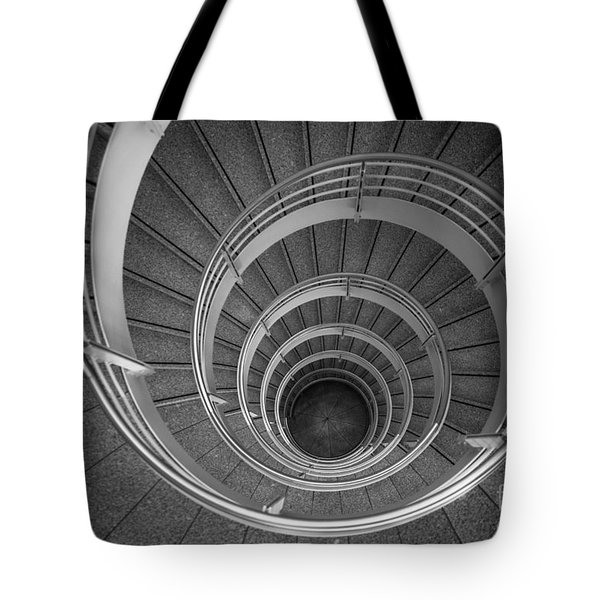 urban spiral - gray II Tote Bag by Hannes Cmarits