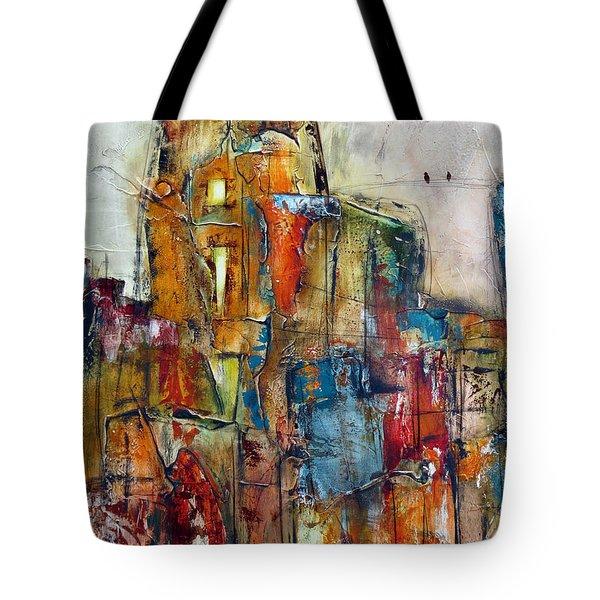 Urban Town Tote Bag
