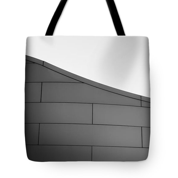 Tote Bag featuring the photograph Urban Wave - Abstract by Steven Milner