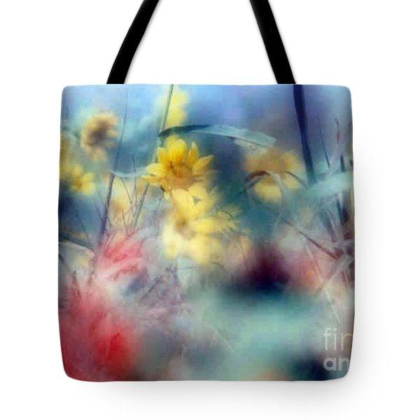 Urban Wildflowers Tote Bag by Michael Hoard