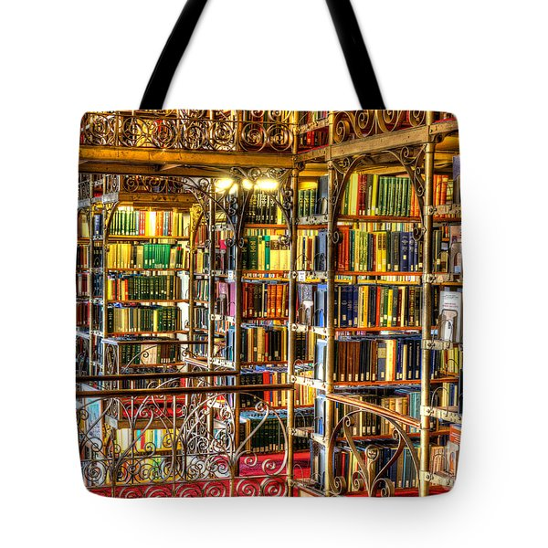 Uris Library Cornell University Tote Bag