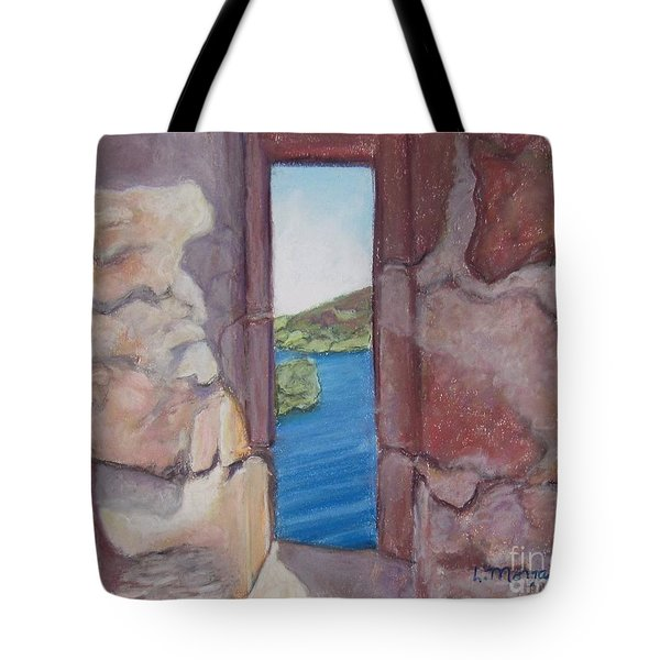 Archers' Window Urquhart Ruins Loch Ness Tote Bag