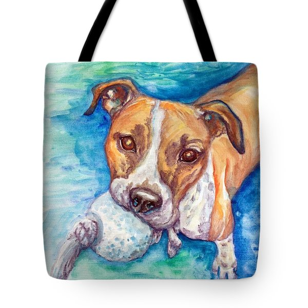 Tote Bag featuring the painting Ursula by Ashley Kujan
