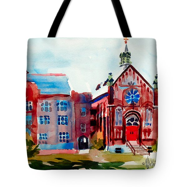 Ursuline Academy Arcadia Missouri Tote Bag by Kip DeVore