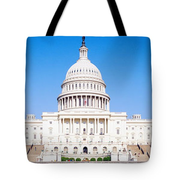 Us Capitol, Washington Dc, District Of Tote Bag