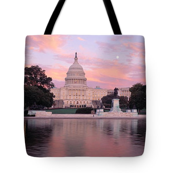 Us Capitol Washington Dc Tote Bag