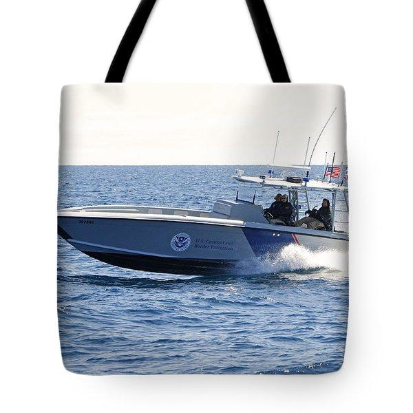 Us Customs At Work Tote Bag